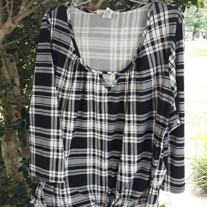 FRENCH LAUNDRY COZY FLANNEL SHIRT, 3X